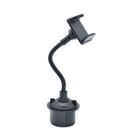 Wholesale gps phone holder car online – Universal Car Mount Adjustable Cup Holder Stand For Cell Phone Mobile GPS Support Inchs Car Accessories