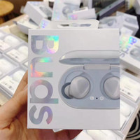 ingrosso auricolari di alta qualità-R170 germogli TWS Auricolari con il caricatore Box Galaxy germogli Auricolare Bluetooth Cuffie A + di alta qualità auricolari Cuffie Wireless 3D Stere