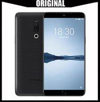 meizu 4g toptan satış-100% Orijinal Meizu Pro 6 S 4G LTE Telefon Android Helio X25 Deca Çekirdek 64 GB ROM 4 GB RAM 2.5 GHz 5.2 inç 12.0MP Kamera 3D Basın Dhl Ücretsiz