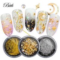 Bittb 3Box Nail Art Decorations 3D Rhinestones Diamonds Diverse Metal Studs  Gems DIY Design Accessories Manicure For Nails Decor c77b7b04cea0