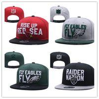 Cardinals Philadelphia Eagles Raiders Baseball Snapbacks Tutti i team  Steelers Football Hats Man Sports Cappello piatto Hip-Hop Tappi Migliaia  Stili 500c540b9133