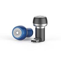 máquina de barbear micro venda por atacado-CXONE Aparelho de sucção magnética Navalha de barbear elétrico Barbeador de viagem Portátil Mini Homens Adequado para o telefone Android Micro USB Tipo C grátis DHL