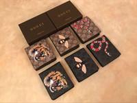 carteras rosas corazones al por mayor-2019 MEJOR precio para hombre de la marca Billetera de cuero de diseñador de los hombres con carteras para los hombres monedero cartera hombres billetera
