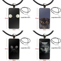 Wholesale cat eye glasses jewelry for sale - Group buy Cat Eyes For Women Men Brand Steel Color Jewelry Fashion Statement Necklace Glass Necklaces Pendants