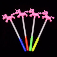 Wholesale pvc swings resale online - Boosts and boosts the Led luminous stick children s luminous toy flashes and swings the stick and shakes the light