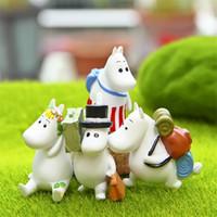 Wholesale boys toys for sale - Hippopotamus Figure Diy Micro Landscape Doll Cm Cute Figures Cake Decor For Children Boy Girl Cartoon lza D1