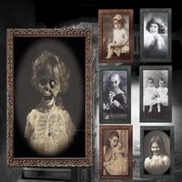 ingrosso temi cornici-Cornice per fantasmi 3D Decorazione di Halloween Forniture per artigianato horror Decorazioni per feste di addio al nubilato Puntelli per feste a tema Halloween