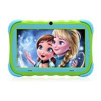 hd игры для пк оптовых-Детский планшет 7-дюймовый HD-дисплей модернизированный IRULU Y57 Babypad PC Andriod 7.1 с WiFi-камерой Bluetooth и игровым GMS
