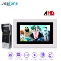 Wholesale villa video intercom for sale - Group buy JeaTone P AHD Villa Video Door Phone Intercom Doorbell Entry System Access Control Kits System