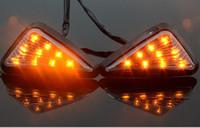 farol de motocicleta liderado por u5 venda por atacado-Motocicleta LEVOU Farol 2 Cores À Prova D 'Água LEVOU Luz de Nevoeiro 3000LM U5 Moto Condução Spot Head Lamp