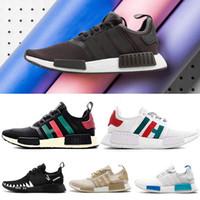 brand new 38d17 fd624 schuh-sport japan mode großhandel-adidas Mode NMD R1 Primeknit Runner Für  Männer Frauen