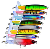 Wholesale sets saltwater lures for sale - Group buy New Arrival Set Propeller Tractor Hard Bait Fishing Lures Artificial Bait Fishing cm G Hook