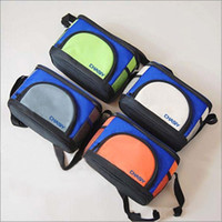 Wholesale thermal insulated cooler bags resale online - Oxford Heat Insulation Insulated Cooler Thickening Leak Prevention Lunch Bag Single Shoulder Zipper Package Ice Pack High Capacity cyb1
