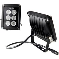 Wholesale led illuminator light cctv ir infrared for sale - Group buy 6 LED Infrared Night Vision IR Light illuminator Lamp Waterproof Housing For CCTV Security Camera System