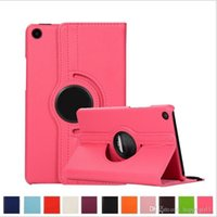 Wholesale china tablet stylus resale online - Smart Stand Rotating Cover for New iPad PU Leather Case for Huawei Samsung Xiaomi quot Universal Tablet Stylus