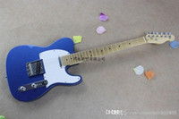 Wholesale guitar maple fretboard for sale - Group buy new electric guitar maple fretboard neck sky blue items guitar HONGYU