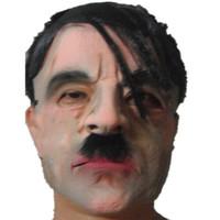 mascarillas de celebridades al por mayor-Venta caliente Adultos Máscaras de Halloween Hombre de la celebridad Mascarilla Facial Cara Transpirable Fiesta de Mascarada de Halloween Ornamento de Látex Real Simular Máscara