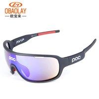 крест солнцезащитные очки оптовых-Cross-Border Взрывоопасные POC Спорт на открытом воздухе Поляризованные велосипедные очки для мужчин и женщин Спортивные поляризованные солнцезащитные очки Спортивные велосипедные очки