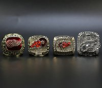 1998 ring großhandel-1997 1998 2002 2008 Detroit Red Wings Championship Ring Hockey Herrenring Fans Best Gifts Set