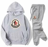 ingrosso vestito della pista di modo delle donne-New Fashion Uomo Felpe da donna caldo giacca studenti Sportswear Track Suit Tuta unisex Pantaloni tute casual cappotto FS32035