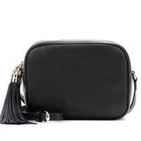 Wholesale soho disco bag black for sale - Group buy Designer Luxury Handbags Purses Women Leather Soho Bag Disco Shoulder Bag Purse High Quality Camera Crossobody Bags cm