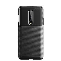 Wholesale one armor online – custom Carbon Fiber Texture Skin Phone Case for One Plus Soft Silicone TPU Ultra Slim Thin Shock proof Armor Phone Cover