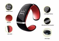 Wholesale smart watches l12s online – Smart Wristwatch L12S OLED Bluetooth Anti Lost Reminder Pedometer Smart Bracelet Fitness Tracker Smart Watch for IOS Android iPhone Phone