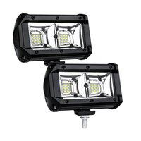 jipe reboque luzes venda por atacado-54W LED Luz de trabalho Flood Lâmpada Luz de condução, jipe, fora de estrada, 4wd, 4x4, Areia Rail, ATV, Motorizada, Dirt Bike, autocarro, reboque, caminhão