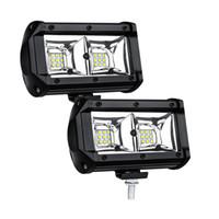 ingrosso ha condotto le luci della bici della sporcizia-Luce del lavoro 54W LED lampada di inondazione della luce di guida, Jeep, Off-road, 4wd, 4x4, Sabbia rotaia, Atv, moto, bici della sporcizia, bus, rimorchio, camion