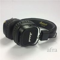 qualidade profissional dos auscultadores venda por atacado-headset Top Quality Marshall major II Auscultadores sem fios Bluetooth Professional HiFi Headphone Preto Alta Qualidade