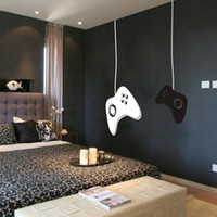 Wholesale game controller sticker resale online - Controllers For Kids Room Decor Gamer Vinyl Wall Mural Sticker Game On Decal Q190522