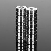 Wholesale 5mm neodymium magnets resale online - 0PCS Very Powerful x5 Neodymium Magnet with Countersunk Bore Strong Magnetic Rare Earth NdFeB Permanent Magnets mm Very Pow