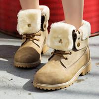 сапоги женские оптовых-Высокие хлопковые Пинетки женские зимние водонепроницаемые на толстой подошве на открытом воздухе Keep теплый плюс бархатные снегоступы женские повседневные ботинки sy684