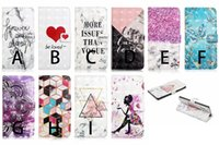 Wholesale 3d chinese cards resale online - 3D Leather Wallet Case For Samsung S20 Ultra Plus A51 A71 Huawei P40 Pro P40 Lite Bling Flower Lace Marble Heart Fairy Card Slot Flip Cover