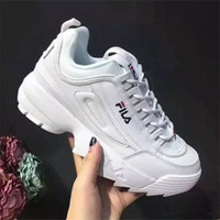 big sale 03eed 8ab32 Wholesale New Branded FI Children Running Shoe Classic Design Baby Kids  Sports Shoes White Casual Sneakers