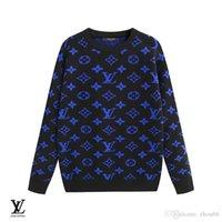 ropa de diseño clásico al por mayor-2019 nuevo último diseñador otoño invierno para hombre suéter clásico moda jersey hombres marca cuello redondo ropa de alta calidad con un tamaño M-3XL