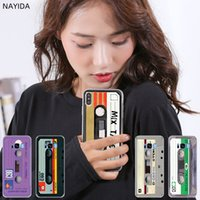 Wholesale pink old phones for sale - Group buy Phone Cases Silicone soft Cover for Samsung S10 S9 S8 S7 S6 Plus Edge E Note Pro case Classical Old Cassette