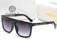 ultraviyole camlar toptan satış-2019 marka yeni güneş gözlüğü yaz güneş erkekler kadınlar moda milyoner güneş gözlüğü anti-ultraviyole polarize lens gözlük marka hediye kutusu
