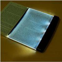 ingrosso lampada da notte di libro-La luce di notte della lettura del LED caldo creativo della luce del libro della lamina piana per auto portatile Panel Viaggi Led Desk Lamp per la casa dell'interno bambini Camera