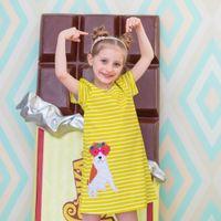 Wholesale wholesale clothing for girls online - Girl Dress Summer Cute Kids Dresses for Girls Clothing Children Vestidos Baby Girl Clothes Princess Dress