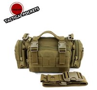 ingrosso tattica-Tactical Versipack Waistpack Borsa da caccia nylon Molle Utility Sport Escursionismo Military Marsupio Messenger Satchel Cross Body # 664468