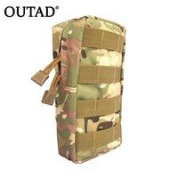 ingrosso grande telefono chiave-OUTAD Borsa sportiva per esterni Mini Tool Kit Bag Zipper vita grande Tactical Pouch Key Phone Pack per l'escursione Caccia Viaggi Hot # 510650