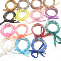 2020 New Arrivals All Weather Multi-Layer Glitter Bangles Set Glitter Filled Silicone Plastic Bowknot Jelly Bow Christmas Bracelets Hot Sale