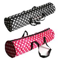 pontos de mochilas venda por atacado-Dots yoga pilates mat case grande capacidade com bolsa à prova d 'água saco transportadores mochila bolsa multifuncional mat