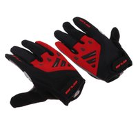 Wholesale glove mtb resale online - Full Finger Cycling Gloves Anti Slip MTB Bike Bicycle Gel Padded Touch Screen Outdoor Sports Gloves