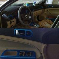 Wholesale volkswagen decals resale online - For Volkswagen VW Passat B5 Self Adhesive Car Stickers D D Carbon Fiber Vinyl Car stickers and Decals Car Styling Accessories