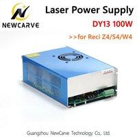 gravar máquina gravura laser venda por atacado-100W fornecimento de CO2 Laser DY13 energia para W4 / Z4 / S4 Reci Co2 Laser driver Tubo gravura de corte a laser NewCarve Máquina