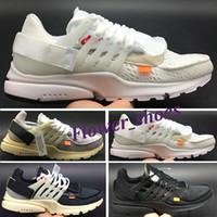 Wholesale 2018 New Original Presto V2 Ultra BR TP QS Black White X designer Shoes Cheap Sports Women Men aI Prestos off Basketball Sneakers W2