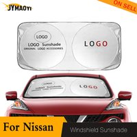 Wholesale car sun shades windshield for sale - Group buy For sunshade windshield sun visor Block Cover for logo UV Protection driving sun shade car window protector