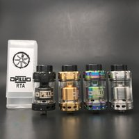 Wholesale terminal for sale - Group buy Dawg RTA Atomizer mm Spacious Build Deck Two Post Dual Terminals Design Triple Squared Slotted Airflow Design DHL Free